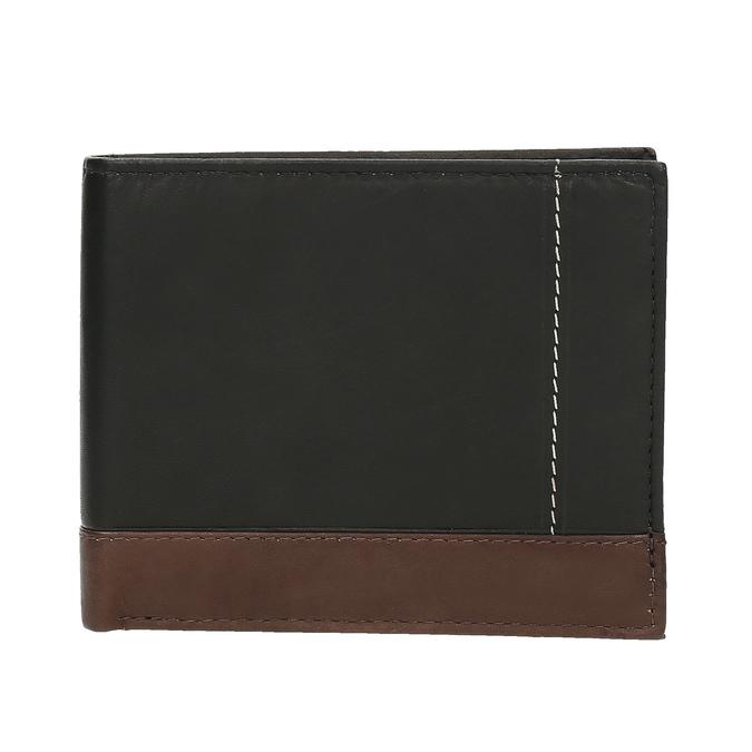 Herren-Geldbörse aus Leder, Schwarz, 944-6149 - 26