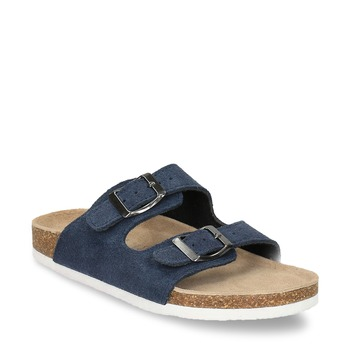 Blaue Pantoffeln für Kinder, Blau, 373-9600 - 13