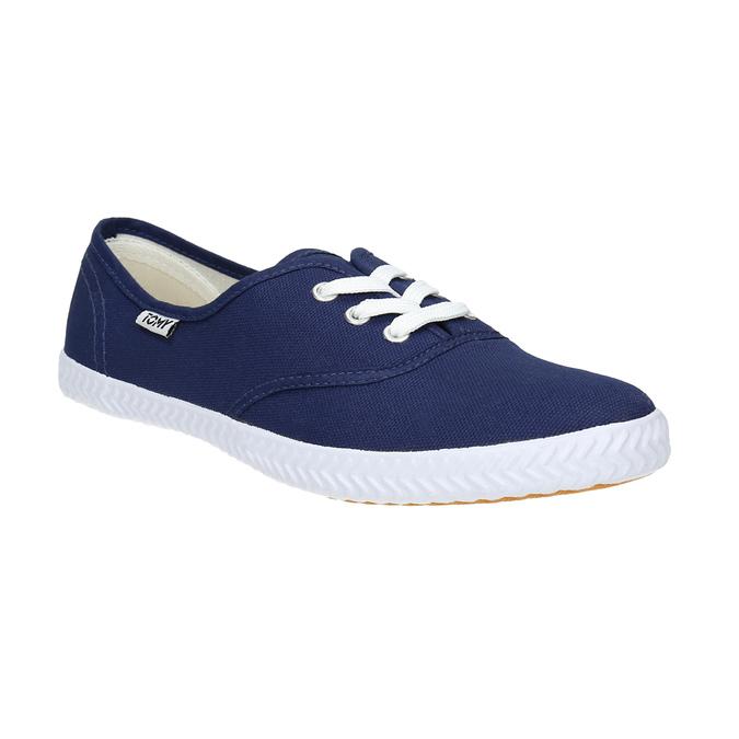 Blaue Textil-Sneakers tomy-takkies, Blau, 519-9691 - 13