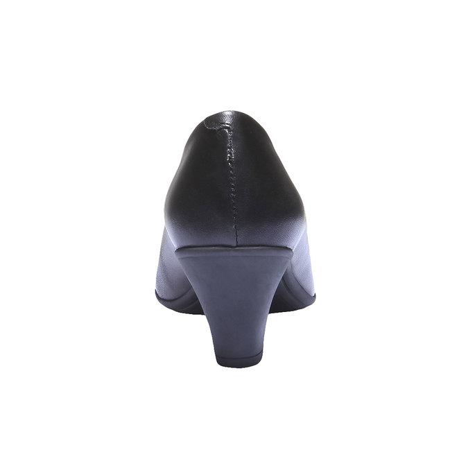 Leder-Pumps flexible, Schwarz, 624-6221 - 17