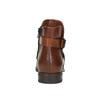 Knöchelschuhe aus Leder mit einer Schnalle bata, Braun, 594-4602 - 17