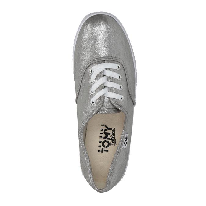 Silberne Damen-Sneakers tomy-takkies, Silber , 519-1690 - 19