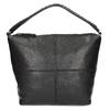 Lederhandtasche mit abnehmbarem Gurt, Schwarz, 964-6233 - 26