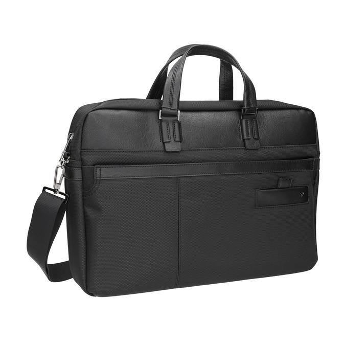 Schwarze Tasche für das Notebook roncato, Schwarz, 969-6640 - 13