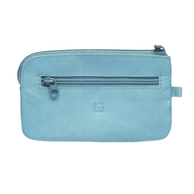 Geldbörse aus Leder bata, Blau, 944-9161 - 26