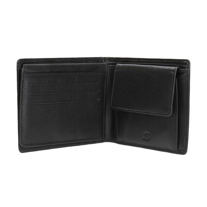 Herren-Geldbörse aus Leder bata, Schwarz, 944-6170 - 15
