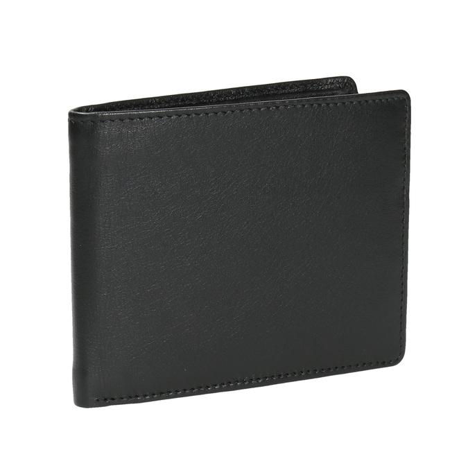 Herren-Geldbörse aus Leder bata, Schwarz, 944-6170 - 13