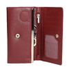 Damen-Geldbörse aus Leder bata, Rot, 944-5357 - 15
