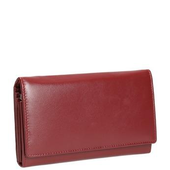 Damen-Geldbörse aus Leder bata, Rot, 944-5357 - 13