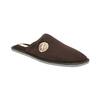 Herren-Hausschuhe mit voller Spitze bata, Braun, 879-4609 - 13