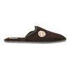 Herren-Hausschuhe mit voller Spitze bata, Braun, 879-4609 - 15