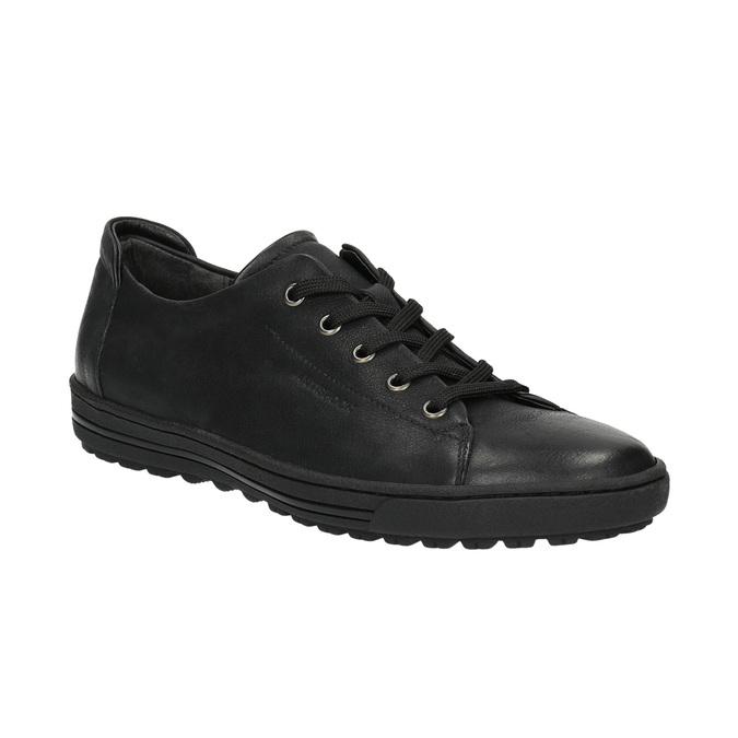 Damen-Sneakers aus Leder bata, Schwarz, 524-6349 - 13