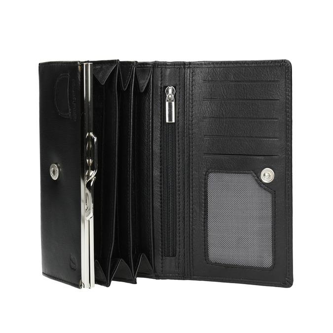 Damen-Geldbörse aus Leder bata, Schwarz, 944-6357 - 15