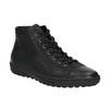 Knöchelhohe Damen-Sneakers bata, Schwarz, 594-6659 - 13