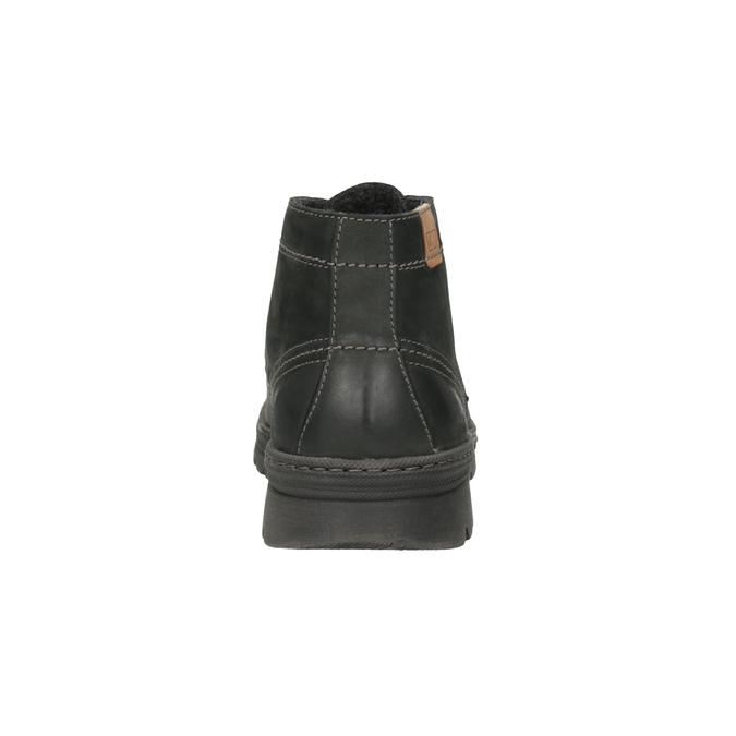 Herren-Knöchelschuhe aus Leder weinbrenner, Grau, 896-2107 - 17