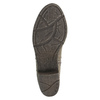 Damen-Stiefeletten aus Leder bata, Grau, 699-2632 - 26