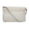 Crossbody-Handtasche mit perforierter Klappe bata, Grau, 961-2709 - 19