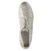 Goldene Sneakers aus Leder bata, Silber , 526-8633 - 19