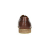 Legere, braune Halbschuhe aus Leder bata, Braun, 826-4807 - 17