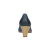 Lederpumps bata, Blau, 626-9639 - 17