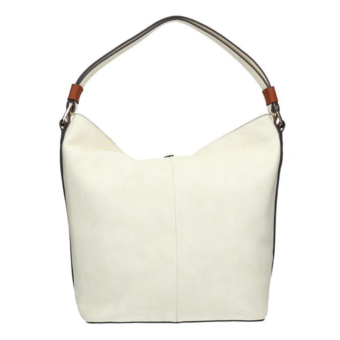 Handtasche im Hobo-Stil bata, Beige, 961-8705 - 19