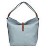 Blaue Handtasche im Hobo-Stil bata, Blau, 961-9705 - 26
