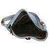 Blaue Handtasche im Hobo-Stil bata, Blau, 961-9705 - 15