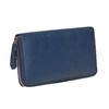 Blaue Damengeldbörse aus Leder bata, Blau, 944-9178 - 13