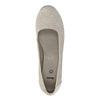 Lederpumps der Weite H bata, Grau, 623-2602 - 19