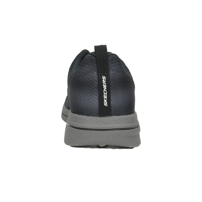 Herren-Sneakers mit Memory-Schaum skechers, Grau, 809-2141 - 17