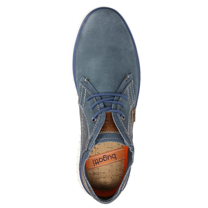 Knöchelschuhe aus Leder bugatti, Blau, 846-9635 - 19