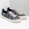 Damen-Sneakers mit Blumenmuster north-star, Schwarz, 589-6446 - 26