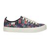 Damen-Sneakers mit Blumenmuster north-star, Schwarz, 589-6446 - 15