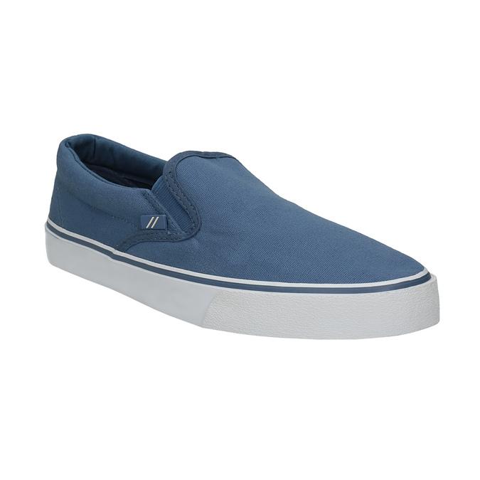 Blaue Schuhe im Stil der Slip-Ons north-star, Blau, 889-9286 - 13