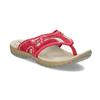 Damen-Flipflops mit markanter Sohle weinbrenner, Rot, 566-5611 - 13