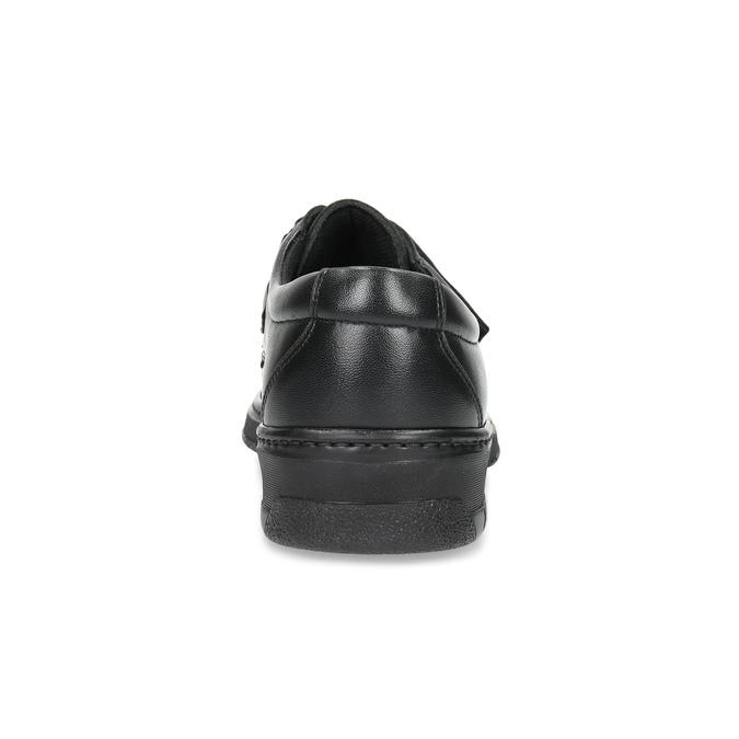 Herren-Mokassins aus Leder mit Klettverschluss pinosos, Schwarz, 824-6543 - 15
