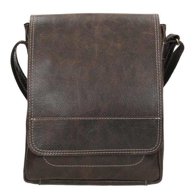 Herrentasche aus Leder bata, Braun, 964-4283 - 26