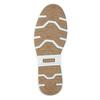 Knöchelhohe Sneakers aus Leder bata, Blau, 846-9641 - 19