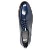 Damenhalbschuhe aus Leder bata, Blau, 528-9600 - 19