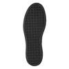 Damen-Slip-Ons mit schwarzer Flatform bata, Grau, 516-1613 - 19