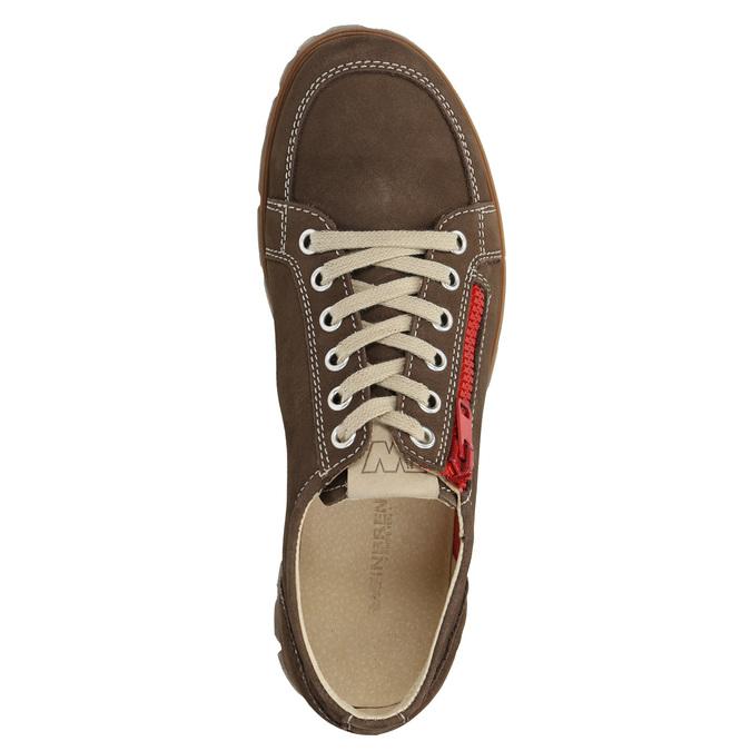 Damen-Sneakers aus Leder weinbrenner, Braun, 546-4604 - 15