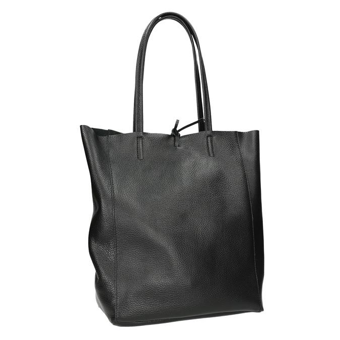 Lederhandtasche im Shopper-Stil bata, Schwarz, 964-6122 - 13