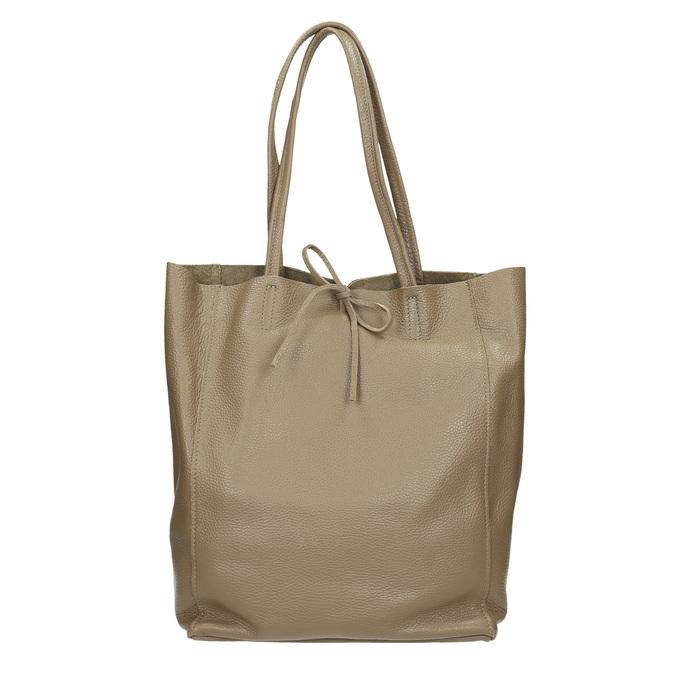 Damen-Lederhandtasche mit Schleife bata, Braun, 964-2122 - 26