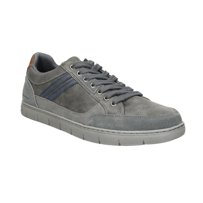 Graue Herren-Sneakers north-star, Grau, 841-2607 - 13