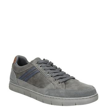 Graue Herren-Sneakers north-star, Grau, 841-2607 - 13