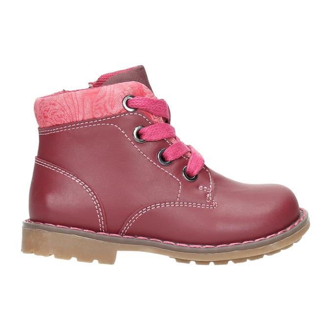Knöchelschuhe für Mädchen bubblegummer, Rosa, 124-5601 - 15
