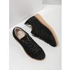 Leder-Sneakers mit markanter Flatform bata, Schwarz, 523-6604 - 19