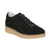 Leder-Sneakers mit markanter Flatform bata, Schwarz, 523-6604 - 13