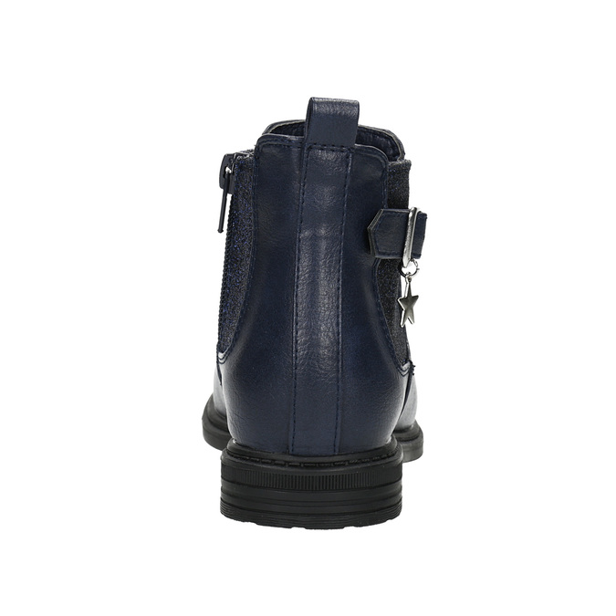 Blaue Chelsea-Boots für Kinder mini-b, Blau, 321-9613 - 17