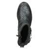 Kinder-Knöchelschuhe aus Leder bullboxer, Blau, Schwarz, 496-9015 - 15